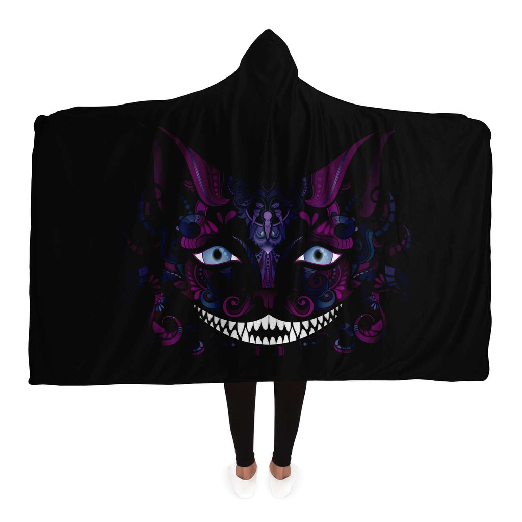Cheshire Cat Hooded Blanket