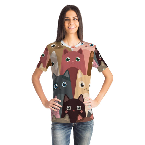 Cute Cats Unisex T-shirt