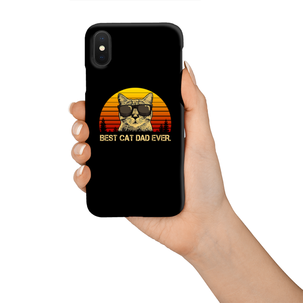 Best Cat Dad Ever Tough Phone Case