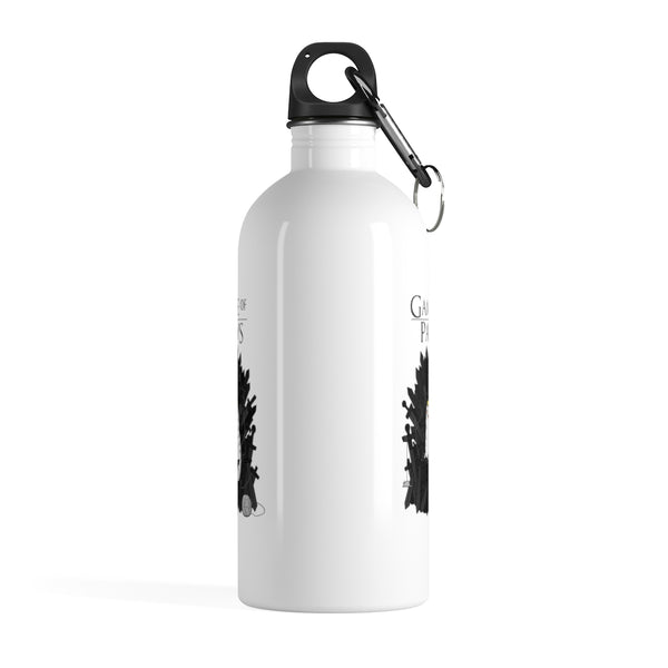 Game Of Paws Stainless Steel Water Bottle