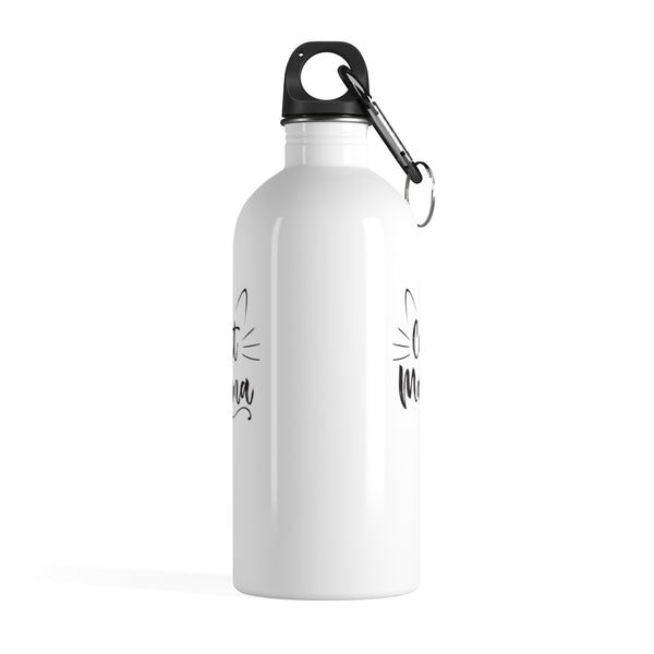 Cat Mama Stainless Steel Water Bottle