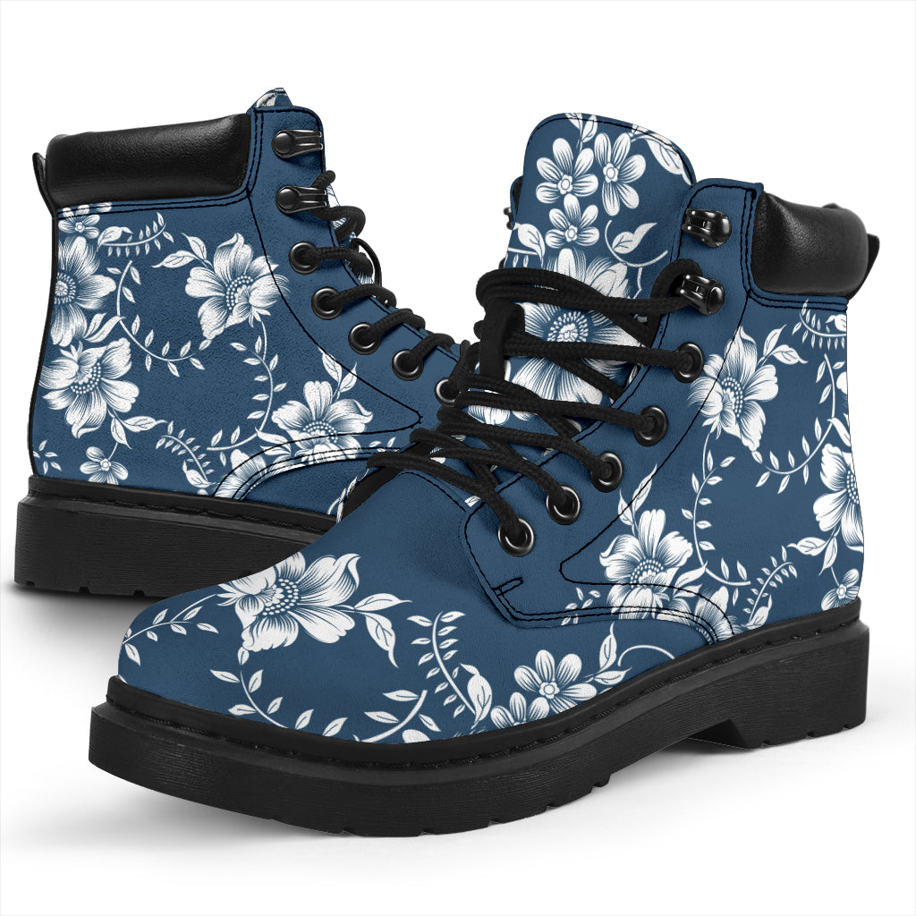 Beautiful Flowers All-Season Boots