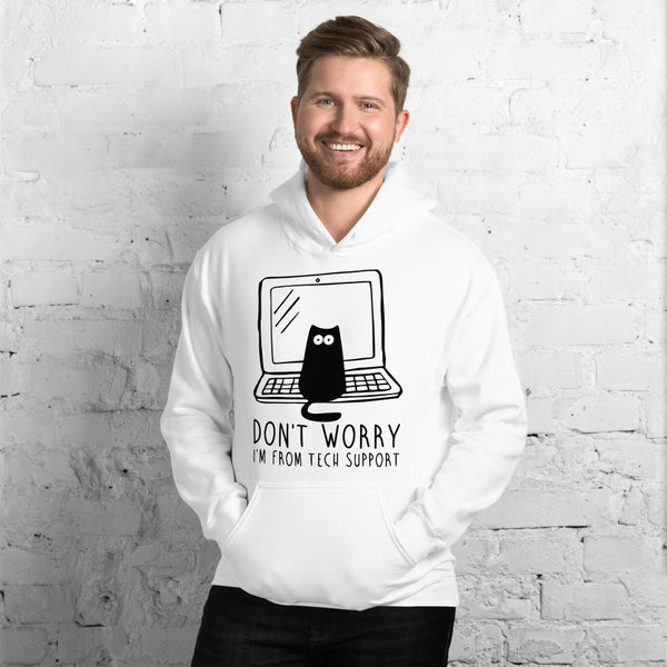 I'm from Tech Support Unisex Hoodie