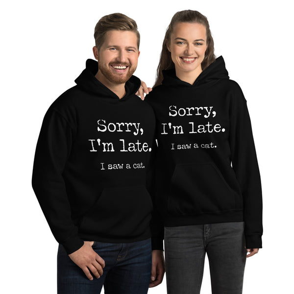 I Saw A Cat Unisex Hoodie