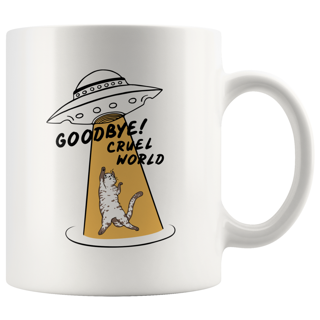 Goodbye Cruel World Mug
