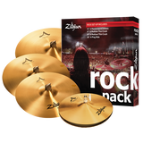 "ZILDJIAN A ROCK 14""-16""-18""-20"" A0801R PACK"