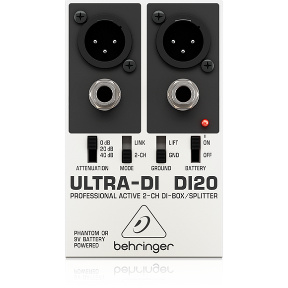 BEHRINGER ULTRA DI20 DIRECT BOX DOBLE
