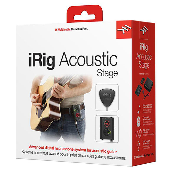 iRig ACOUSTIC STAGE - Interface para Guitarra Acústica