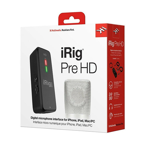 iRig PRE HD - INTERFACE PARA MICROFONO