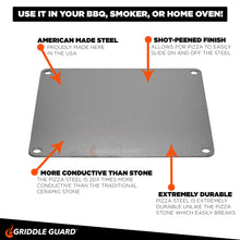 Load image into Gallery viewer, Griddle Guard Pizza Steel