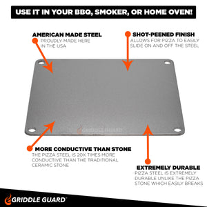 Griddle Guard Pizza Steel