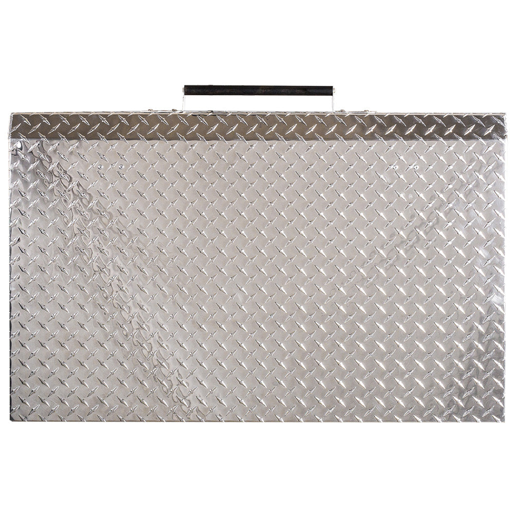 GriddleGuard Diamond Plate Hard Cover Lid for Blackstone 36