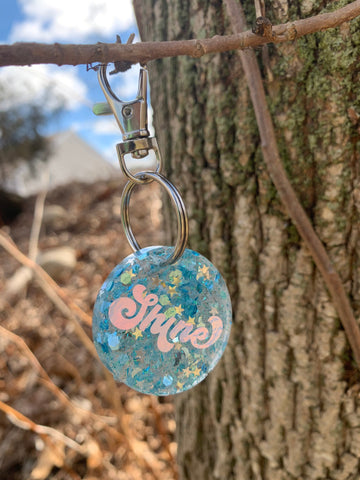 Pre-made Tag// Shine made with sky dancer - Ryderdie Designs
