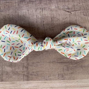 Sprinkles Rounded Bow - Ryderdie Designs