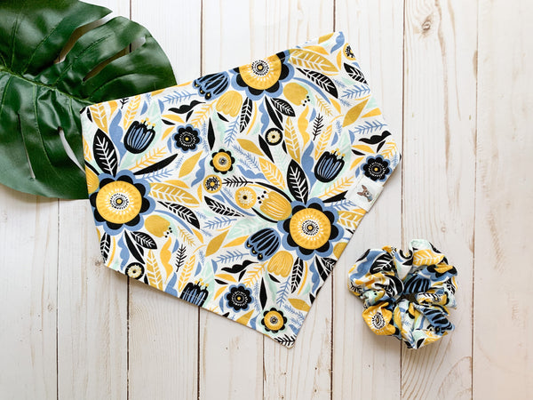 Yellow Flower Bandana