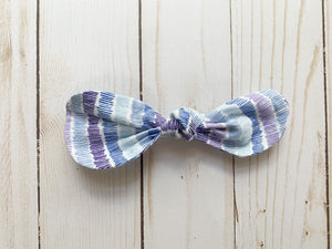 Purple Passion Rounded Bow - Ryderdie Designs