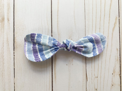 Purple Passion Rounded Bow