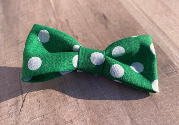 Green Polka Dot - Ryderdie Designs