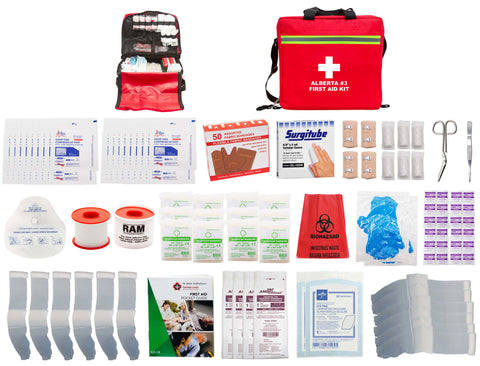 FSAB3-D - ALBERTA #3 FIRST AID KIT (Soft Pack - Deluxe)