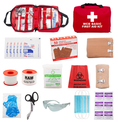 FSWCBB - WCB BASIC FIRST AID KIT (Soft Pack)
