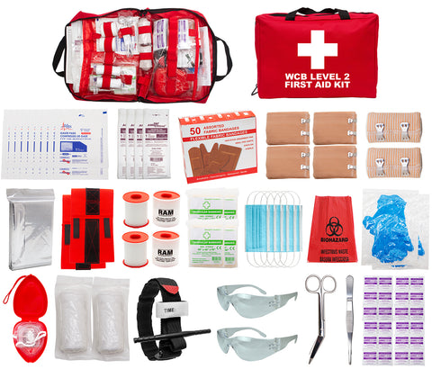 FSWCBL2 - WCB LEVEL 2 FIRST AID KIT (Soft Pack)