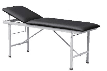 "FSFABED FIRST AID BED FOLDABLE WITH METAL BRACES 73""L X 31""W X (27"" - 33"") H 500LB CAPACITY"