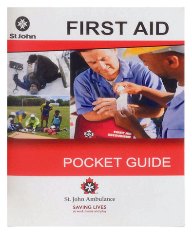 FSMAN ST. JOHN AMBULANCE, POCKET GUIDE (ENGLISH/ FRENCH)