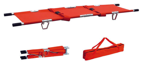 FSDSTRETCH DOUBLE FOLD STRETCHER WITH CARRYING BAG