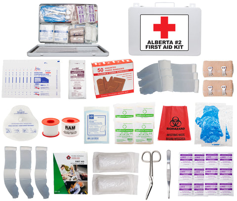 FSAB236U - ALBERTA #2 FIRST AID KIT (36 Unit Metal Box)