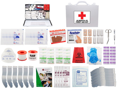 FSAB37FX - ALBERTA #3 FIRST AID KIT (7FX Metal Box)