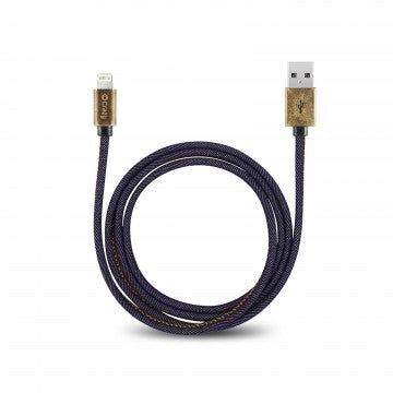 Jeans USB Charger Cord Cable for Apple iPhone & iPad