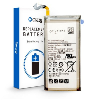 Aftermarket Samsung Galaxy S8 Replacement Battery 3000mAh G950