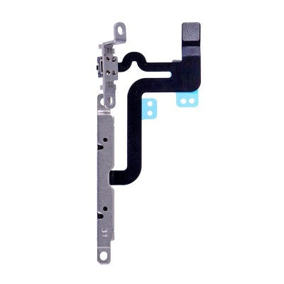 iPhone 6S Plus Volume and Mute Buttons Flex Cable with Bracket