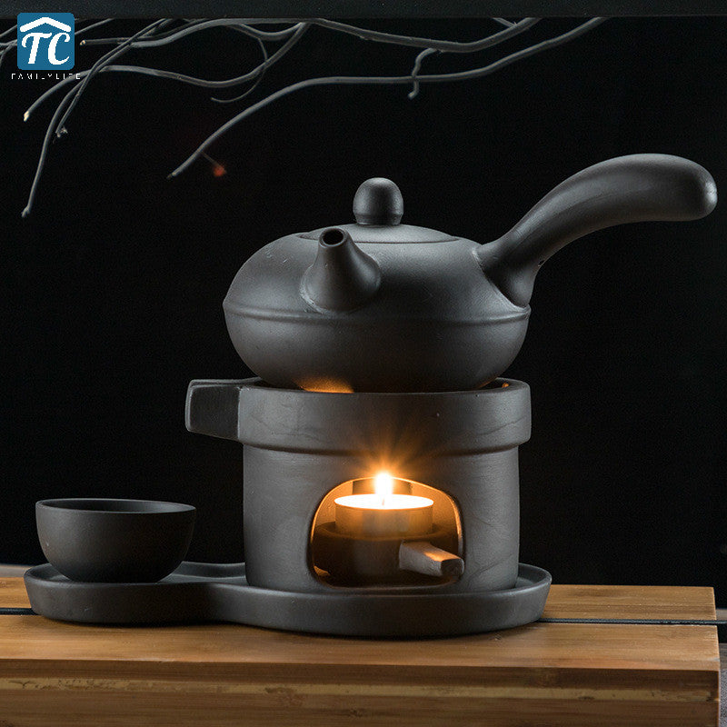 Teapot Heating Base Ceramic Candle Tray