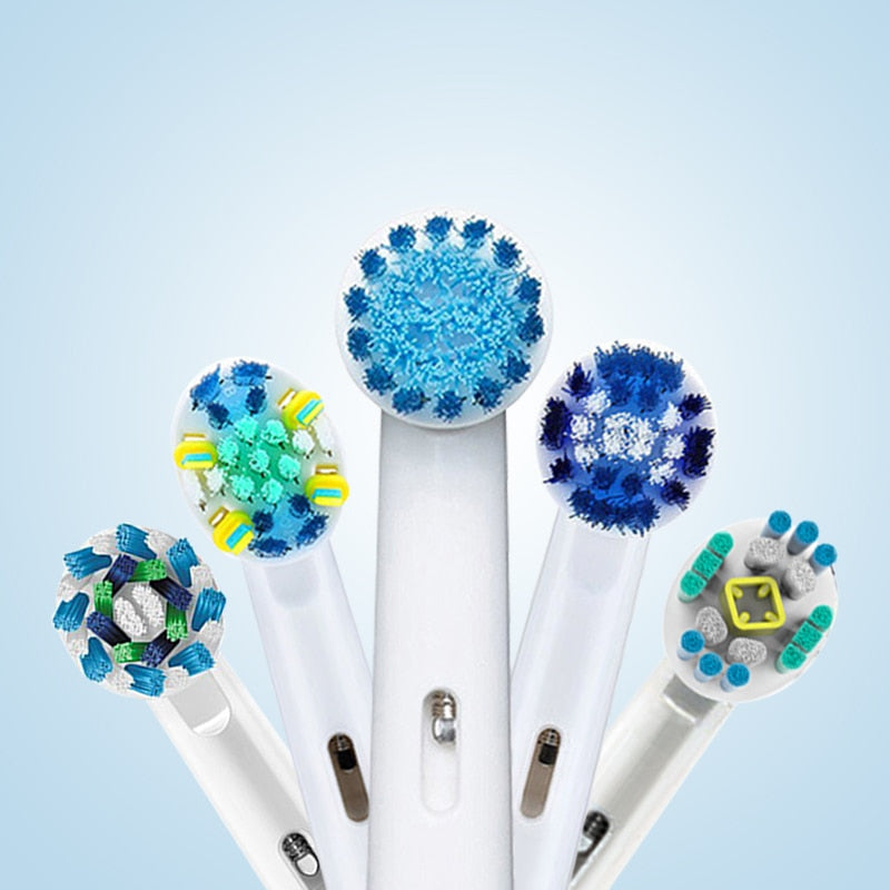 Oral B Electric Toothbrush Heads For Rotary Electric Toothbrush 4pc/Pack