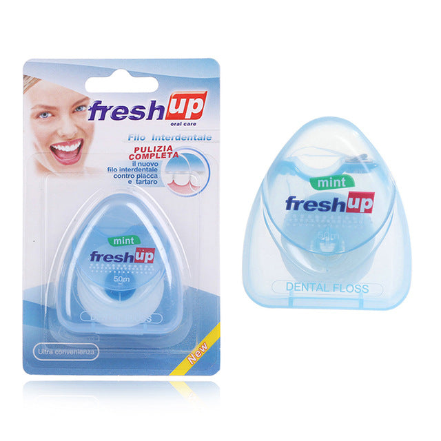 1PC 50m Dental Floss Oral Hygiene Teeth Cleaning