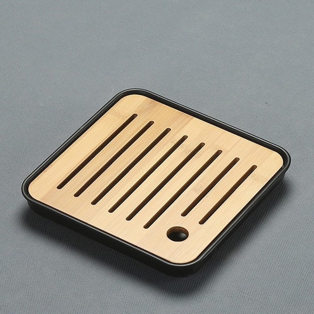 CAKEHOUD China Pu'er Tea Bamboo Tea Tray