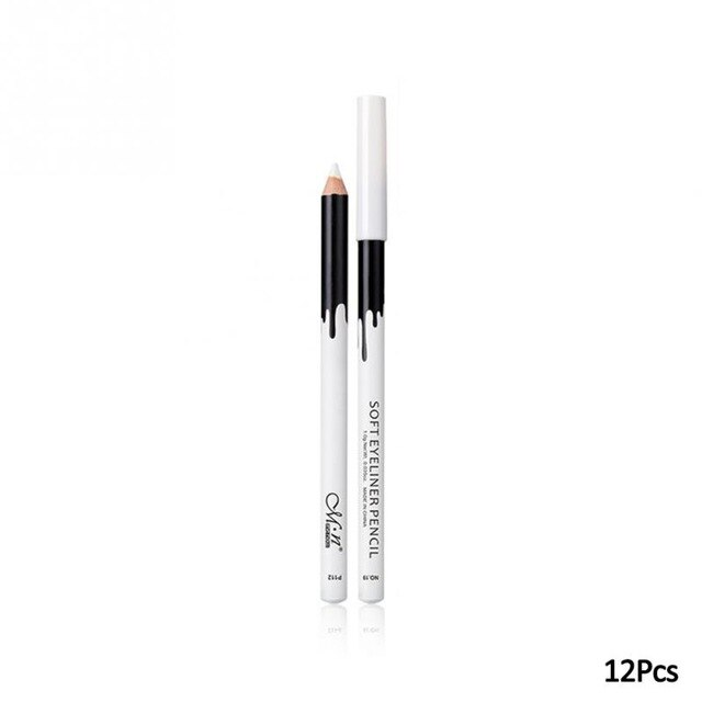 12PCS/Lot white Make Up  Pen Eyeline
