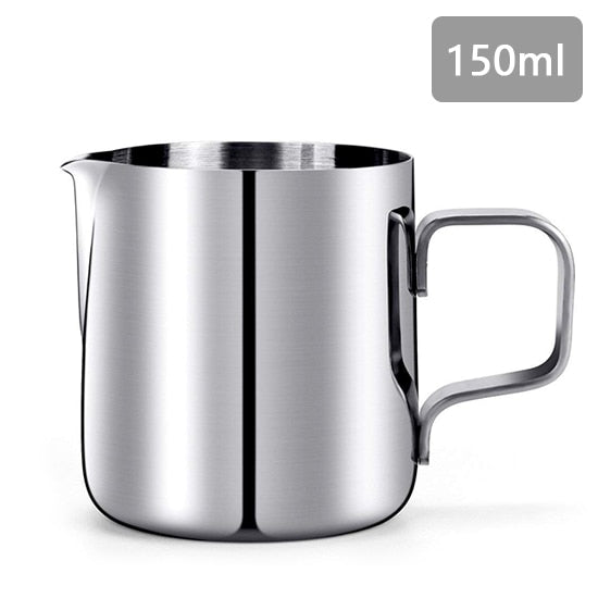 Inner Scale Espresso Coffee Milk Frothing Pitcher Stainless Steel