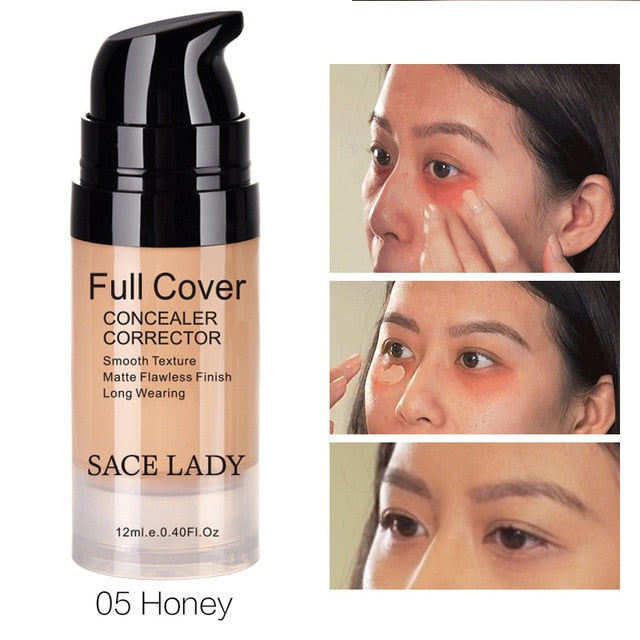 Face Concealer Cream Full Cover Makeup