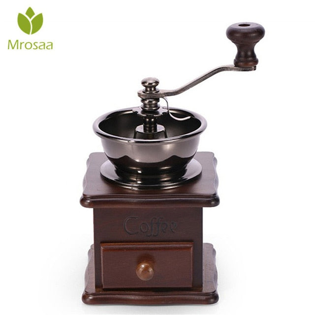 Top Quality Classical Wooden Manual Coffee Grinder