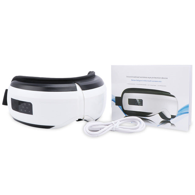 Vibration Eye Massager  Hot Compressing Air Pressure Therapy