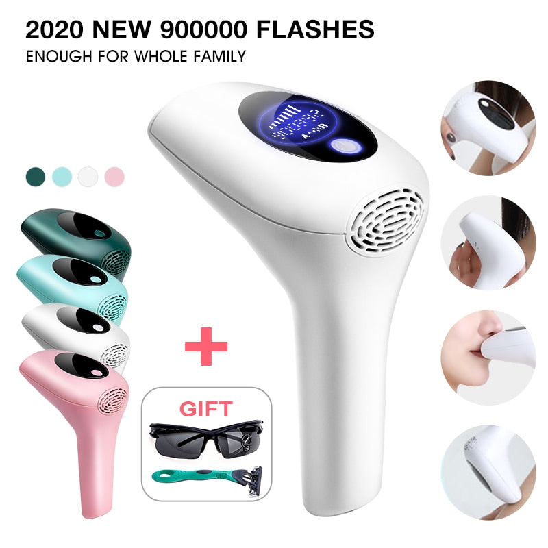 2020 New Laser Epilator 900000 Flashes Permanent IPL Photoepilator Hair Removal