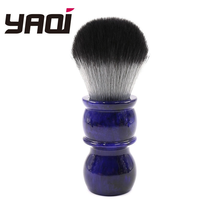 26mm Yaqi Timber Wolf Synthetic Hair Shaving Brush