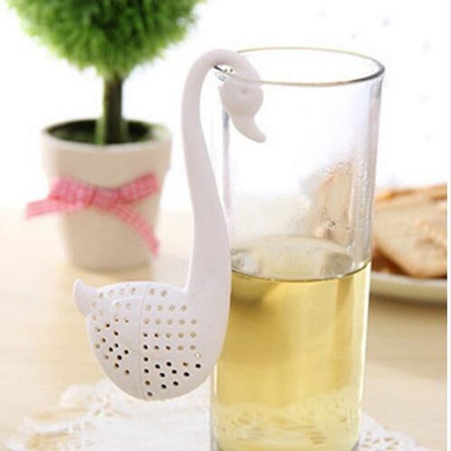 1 Pcs Bag Shape Silicone Tea Strainer Infuser F
