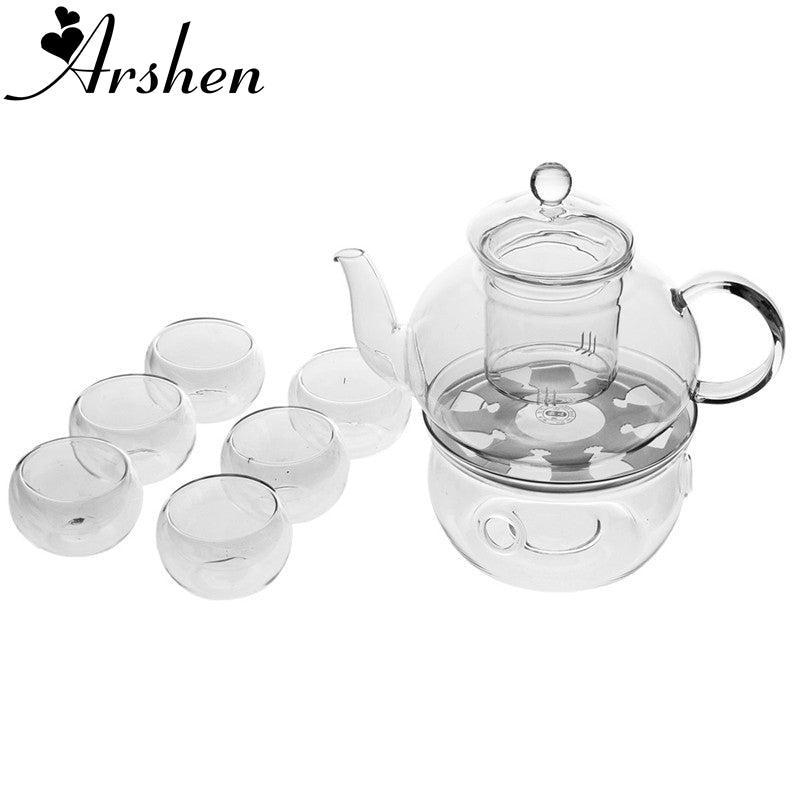 Teaware Set Include Heat-Resistant 400ML Teapot