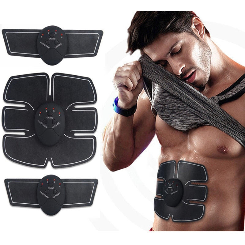 Body Abdominal Muscle Training Stimulator Device Wireless ABS Belt Home Gym Professional