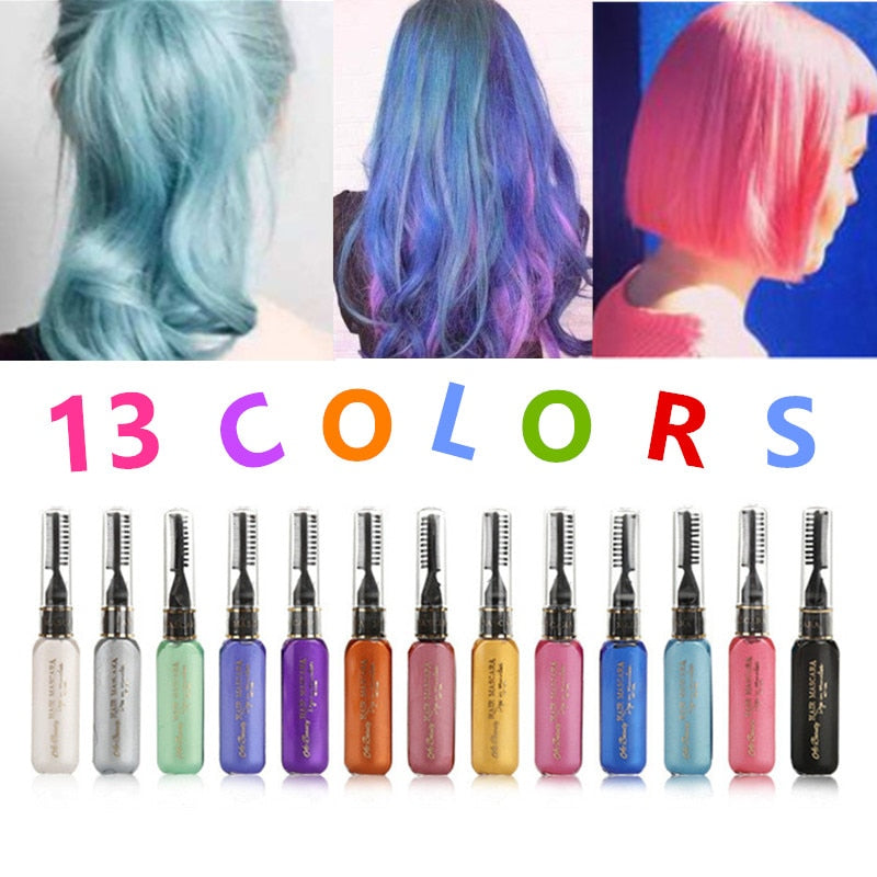 13 Colors One-time Hair Color Hair Dye Temporary