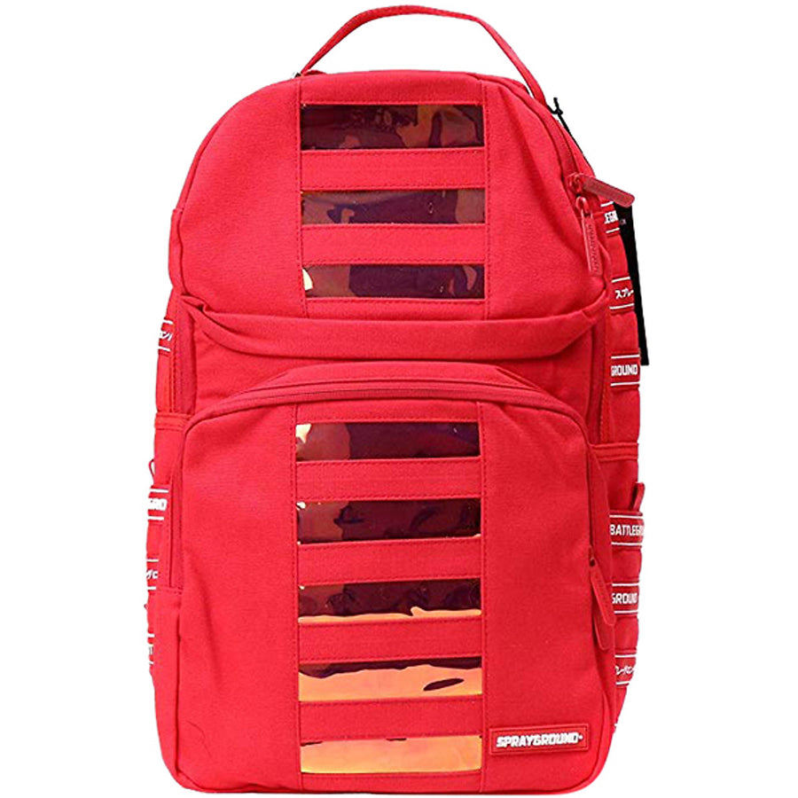 Red Hologram Backpack