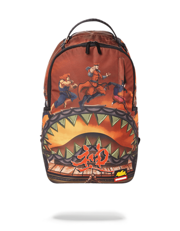 SPRAYGROUND STREET FIGHTER: VILLAINS ON THE RUN BACKPACK B2508